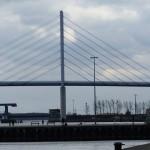 Die neue und die alte Rügenbrücke