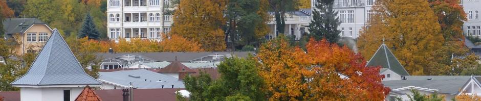 Göhren im Herbst