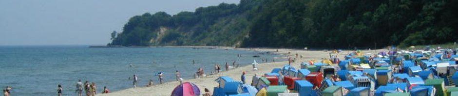 Sommer am Strand von Göhren