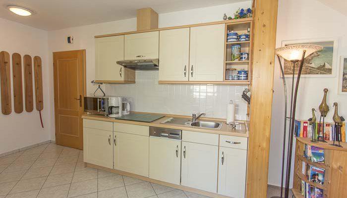 Wohnung 1 die moderne Küche