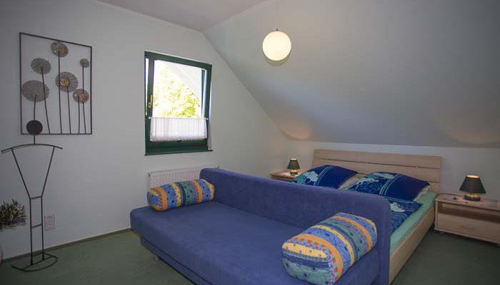 Wohnung 1 das Schlafzimmer