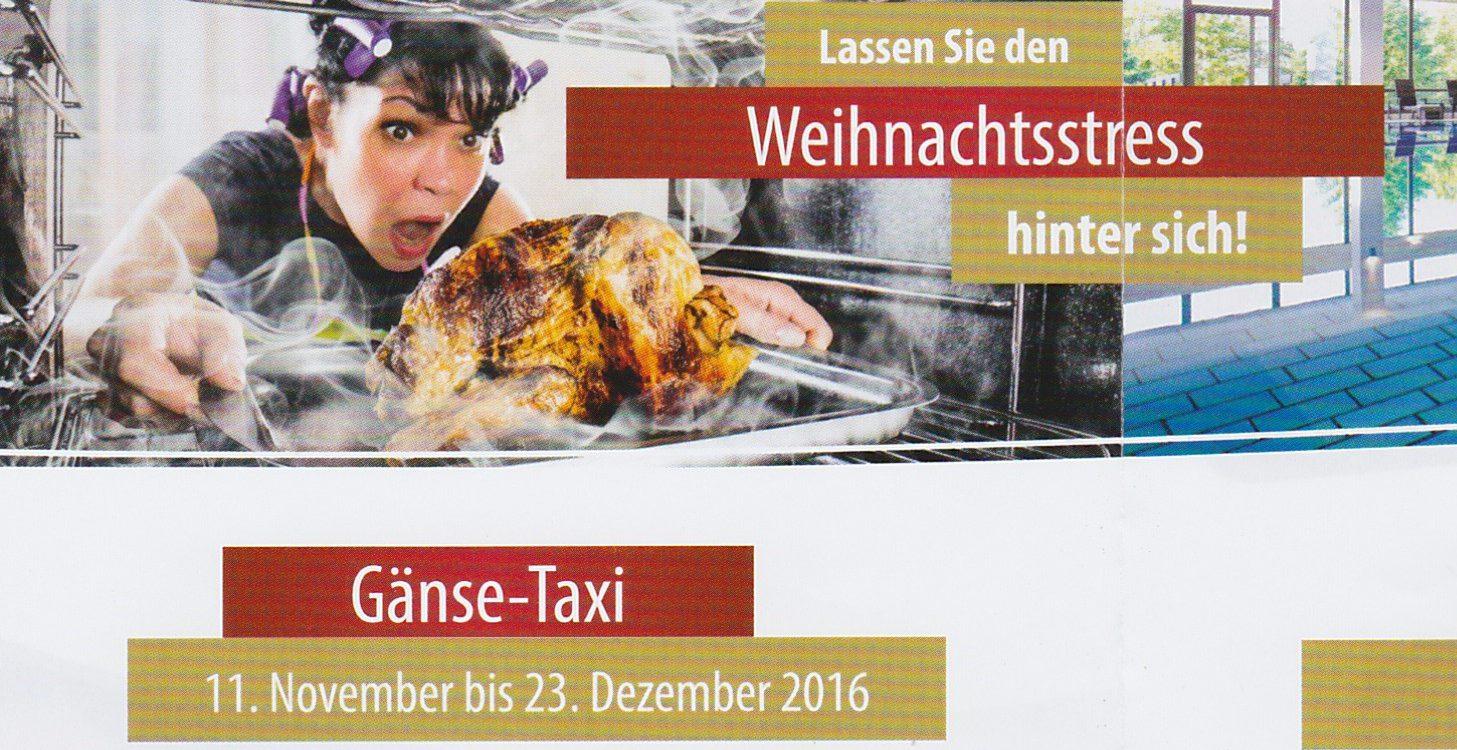 Gänse - Taxi