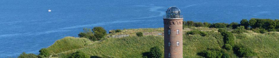 Aussicht auf den Peilturm am Kap Arkona