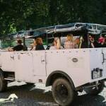 Mit dem HANOMAG Jeep über Mönchgut
