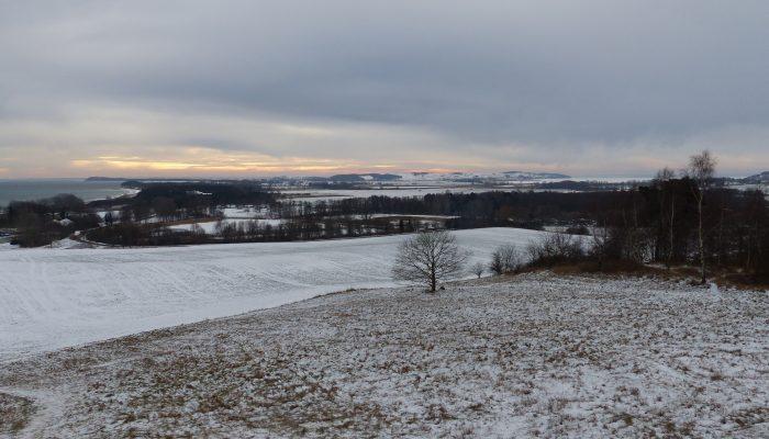 Winter auf Mönchgut