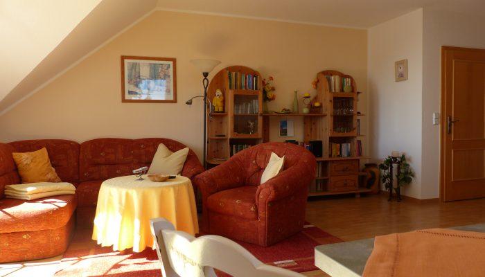 Wohnung 2 - der Wohnbereich