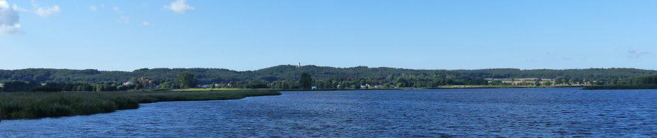 Ausblick auf das Jagdschloss Granitz